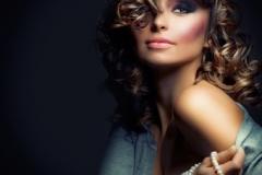 Fashion Beauty Portrait. Sexy Girl